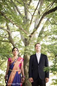 Indian Fusion Wedding Pre-Wedding Portrait