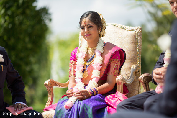 Indian fusion wedding ceremony