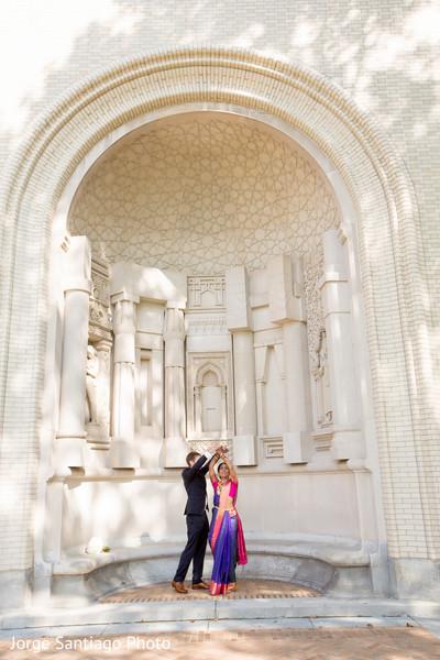 Indian Fusion Wedding Pre-Wedding Portrait