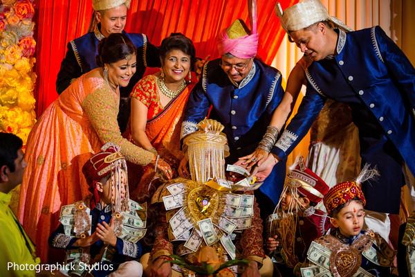 Indian groom pre-wedding ritual.