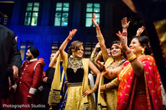 indian bridesmaids,baraat,pre- wedding celebrations
