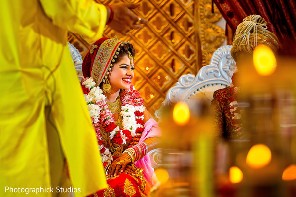 indian bride,indian wedding ceremony,floral and decor,mandap