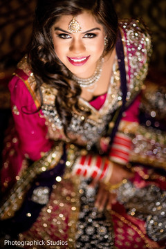portrait,indian bride,makeup and hair