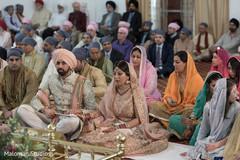 sikh wedding ceremony,indian wedding photography,sikh bride and groom