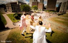 outdoor photography,indian groomsmen,indian groom