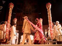 indian wedding ceremony,saptapadi ritual,indian bride fashion,indian groom fashion