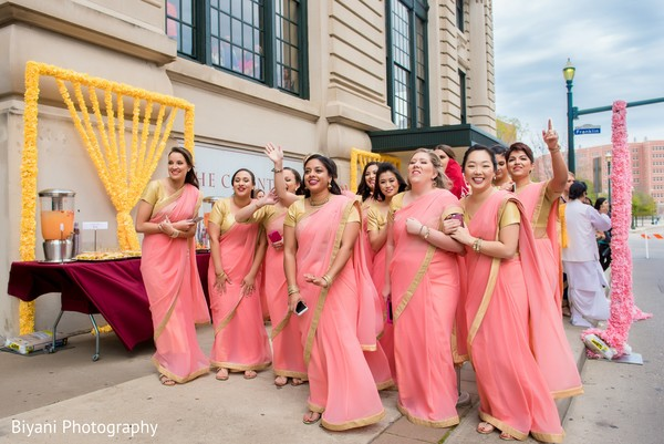 indian bridesmaids,indian bridesmaids' fashion