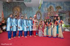 indian bride,indian groomsmen,indian wedding ceremony