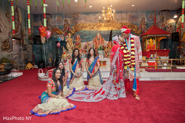 indian bride,indian,groom,indian bridesmaids,indian wedding ceremony