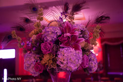 indian wedding reception,floral and decor,floral centerpieces