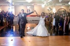 iindian bride and groom,indian wedding reception,dj