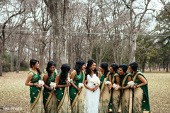indian bridesmaids' fashion,indian bride fashion,indian bride,indian bridesmaids