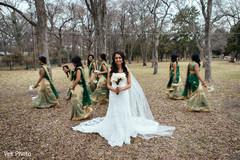 indian bride fashion,indian bridal bouquet,indian bridesmaids' fashion