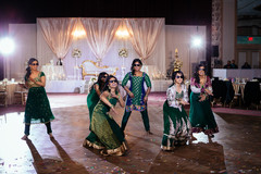 indian wedding reception,indian bridesmaids,indian bridesmaids' fashion