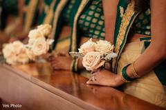 indian bridesmaids,indian bridesmaids' fashion,indian wedding ceremony