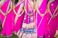 indian bridesmaids,indian bridesmaids' fashion,indian bride lengha,bridal jewelry