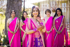 bridal jewelry,bridal tikka,indian bride lengha,indian bridesmaids' fashion