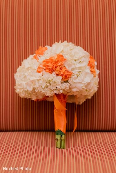 Indian bridal bouquet.