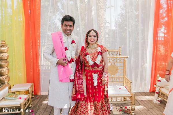 Stunning Indian wedding ceremony photography.