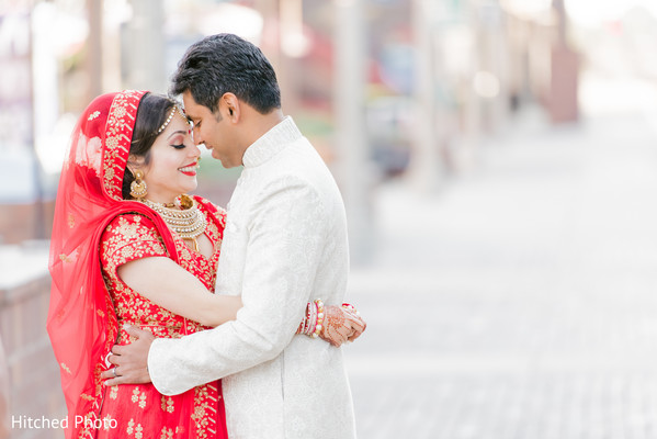 Heart melting Indian bride and groom photography.