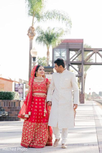 Heartwarming Indian wedding photo shoot.