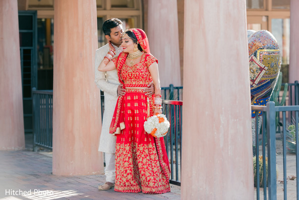 Magical outdoor Indian wedding photography.