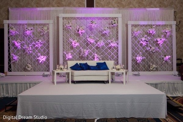 Indian Wedding Reception Decor Photo 119157