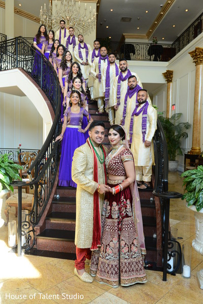 indian groom sherwani,indian bride lengha,indian groomsmen fashion,indian bridesmaids' fashion