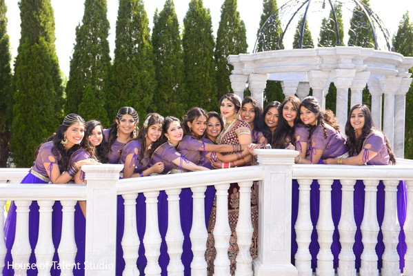 indian bride lengha,indian bridesmaids' fashion,indian bridal party