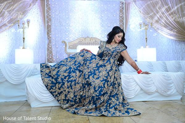 indian bride reception fashion,bridal jewelry,indian wedding reception