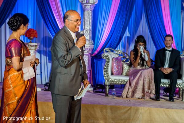 indian wedding reception,dj,wedding speech
