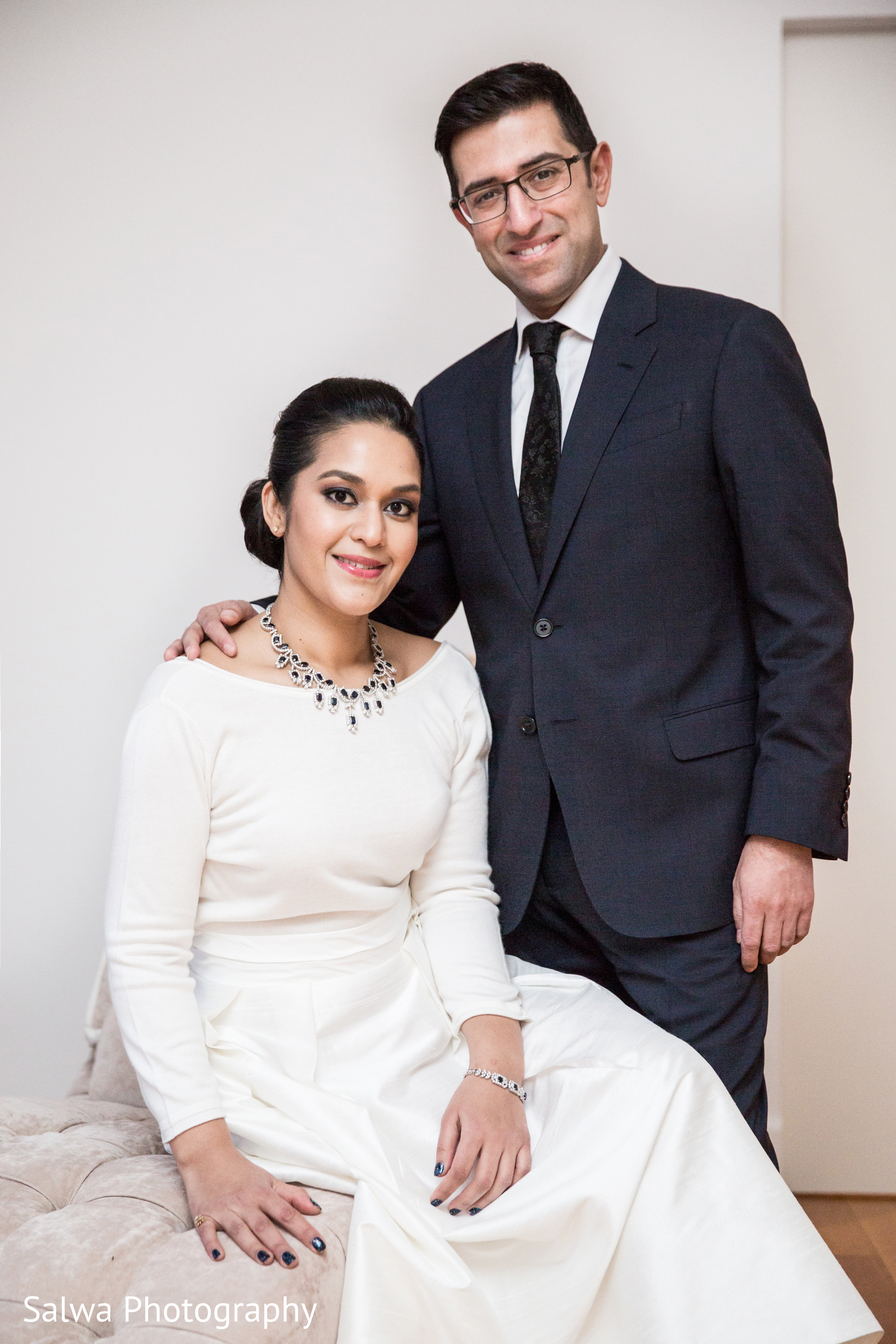 New York City, NY Indian Engagement Party by Salwa Photography ...