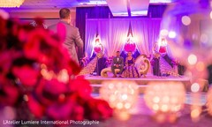 indian bride,indian wedding reception,lighting