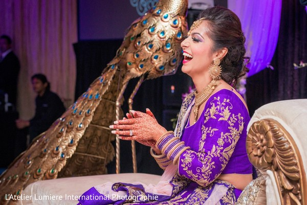 indian bride,indian wedding reception,floral and decor