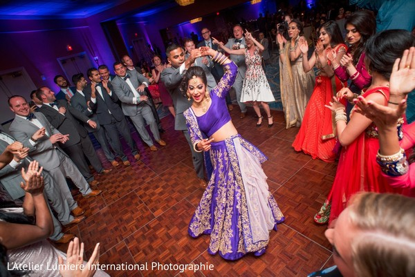 indian bride and groom,indian wedding reception,dj