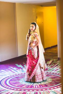 indian bride fashion,indian bride lengha,indian bride ceremony fashion