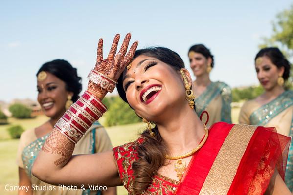 indian bride,inidan bridesmaids,indian wedding photography