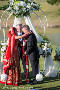 indian bride,indian groom,indian fusion wedding ceremony,floral and decor,jaimala
