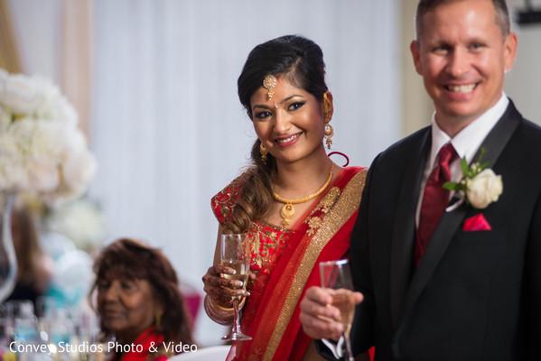 indian wedding reception,dj,indian bride,indian groom