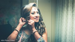 See this gorgeous indian bride getting ready
