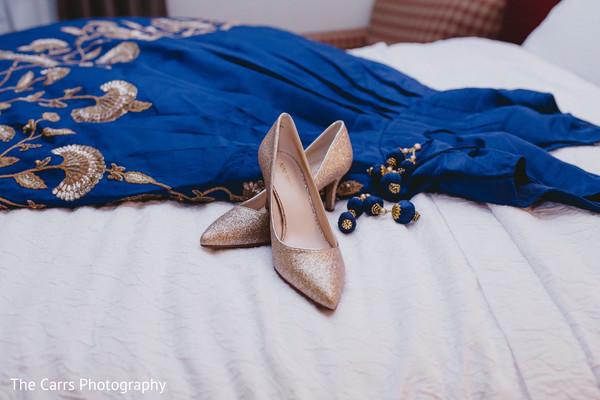 reception fashion,getting ready,indian bride fashion,bridal shoes