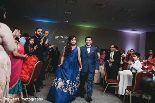 indian wedding reception,dj,lightning,indian bride and groom