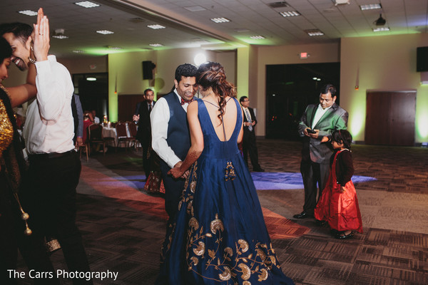 indian wedding reception,dj,indian bride