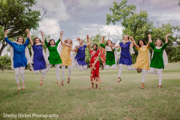 indian bride lengha,indian bridesmaids' fashion,indian bridesmaids,indian bride