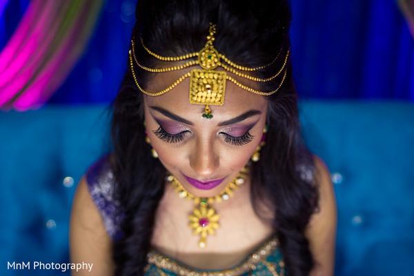 indian bride,hair and makeup,portrait
