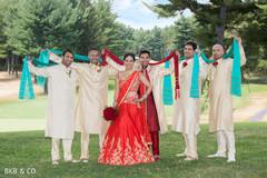 indian wedding photography,indian groomsmen,indian bride and groom