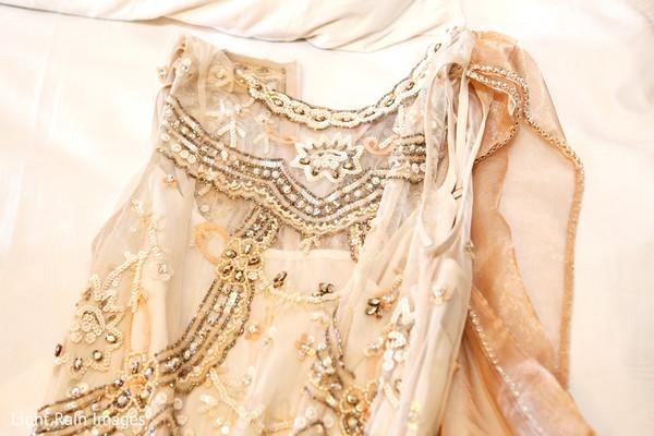 indian bride ceremony fashion