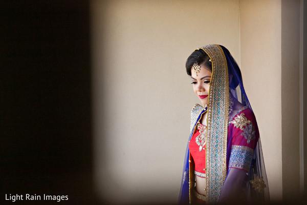 indian bride fashion,indian bride hair and makeup,bridal tikka