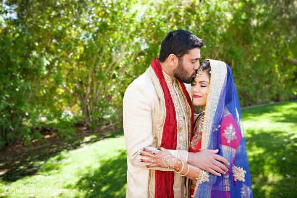 outdoor photography,indian groom sherwani,indian bride lengha