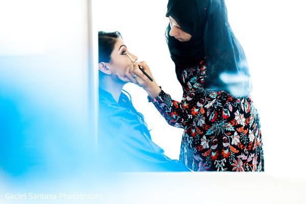indian bridal makeup,indian bride,indian bride getting ready